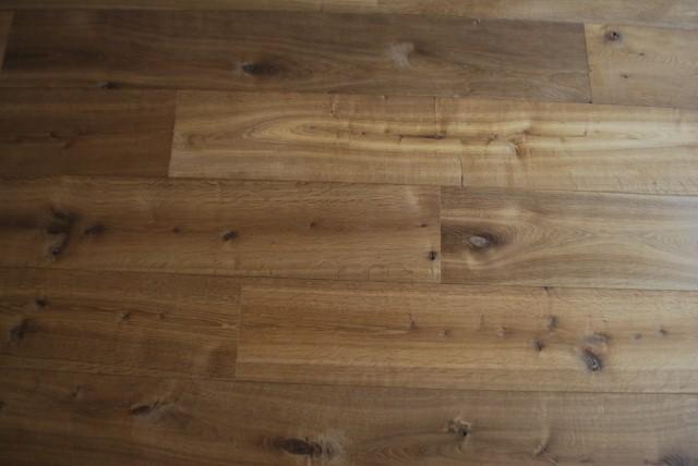 Massief houten vloer vast verlijmd karakterparket karakterparket