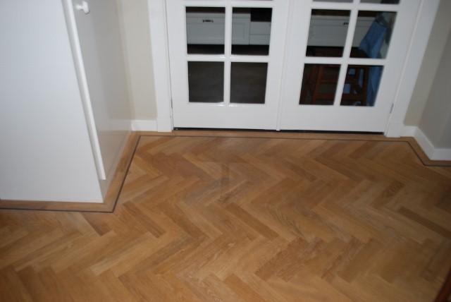 Visgraat vloer white wash Zeist